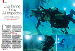 dive training today pdf